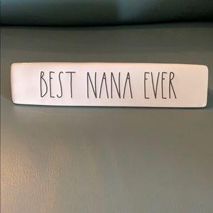 """Rae Dunn """"Best Nana Ever"""""""